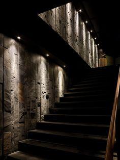 mystic interior stairs