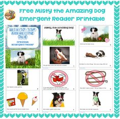 Free-Misty-the-Amazing-Dog-Emergent-Reader-printable