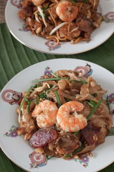 Chinese sausage, Fried rice noodles and Places on Pinterest