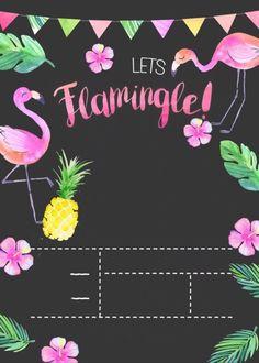 Flamingo Party, Flamingo Birthday, Summer Party Decorations, Birthday Decorations, Party Themes, Aloha Party, Fruit Birthday, 1st Birthday Parties, Havanna Party