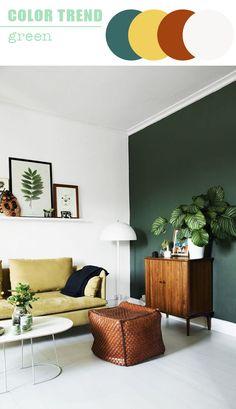 Ⓒ decocrush.fr Come vi avevo già raccontato in questo post di gennaio, il verde è uno dei colori top per l'arredamento nel 2017. Dal fresco e…