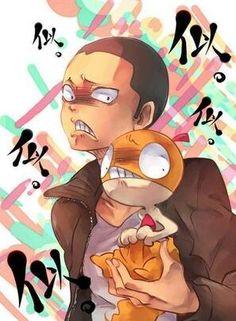 Tanaka Ryuunosuke - Haikyuu!! x Pokémon / Hq!! Finally someone made the comparison