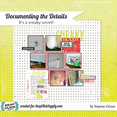 Digital scrapbook layout by designer Tammy Circeo featuring the Finnley kit by Glitz Design available at www.snapclicksupply.com #digitalscrapbooking #snapclicksupply