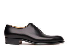 Men dress shoes Brown Oxford 402 - Weston