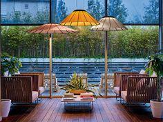 Marzua: Banga, el parasol iluminado diseñado por Yonoh par...