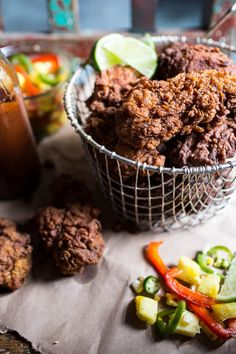 Pin for Later: 26 Crispy Fried Chicken Recipes That Will Make You Embrace Your Southern Side Almond Buttermilk Jamaican Fried Chicken Get the recipe: almond buttermilk Jamaican fried chicken