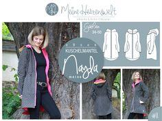 Nähanleitungen Mode - ★ eBook ★ meine Nayla ★ Mantel ★Größe 34-50 ★ - ein Designerstück von MeineHerzensweltDIY bei DaWanda