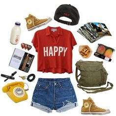 """Happy"" Summer Outfit"