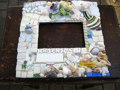 WIP - wedding picture frame by Rush Creek, via Flickr