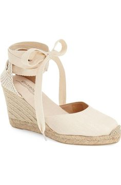 Soludos Wedge Lace-Up Espadrille Sandal (Women) available at #Nordstrom
