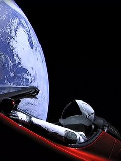 A Tesla Roadster in orbit. A 'Starman' at the wheel. Why this incredible image has us excited about space exploration — USA TODAY Spacex Launch, Falcon Heavy, Hd Phone Wallpapers, Tesla Roadster, Star System, Space Exploration, Milky Way, Stargazing, Astronomy