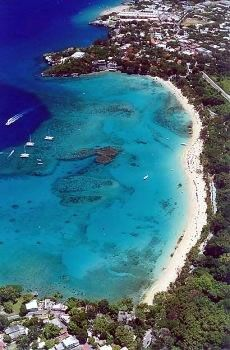 This is where my sister and I took our PADI Open Water certificate - Sosua Beach, Dominican Republic