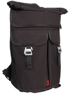 Chrome - Pawn Roll-Top Bag (Black) - Bags and Luggage on shopstyle.com