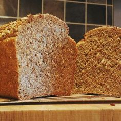 Healthy Baking, Healthy Recipes, Spelt Bread, Home Baking, Recipe Of The Day, Baking Recipes, Cooking Blogs, Grains, Food