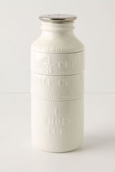 milk bottle measuring cups #anthrofave