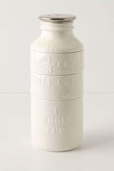 milk bottle measuring cups #anthrofave