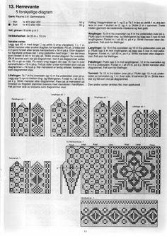 Photo from album Selbustrikk on Yandex. Loom Knitting Patterns, Knitting Charts, Knitting Stitches, Knitting Tutorials, Hat Patterns, Knitting Needles, Free Knitting, Stitch Patterns, Fingerless Mittens