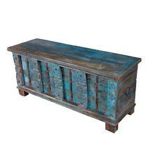 "54"" Henrietta Chest Trunk Box Solid Wood Vintage Hand Made CB"