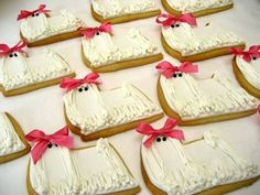 cookies decorati con glasse e zuccherini