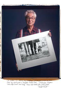 """do livro """"Behind Photographs: Archiving Photographic Legends"""" de Tim Mantoani"""