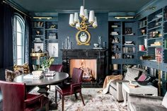 The Parcell Library - Alice Lane Home Interior Design Home Interior, Interior Design, Alice Lane Home, Home Office Space, Home Collections, Home Decor Accessories, Cheap Home Decor, Home Remodeling, Home Furnishings