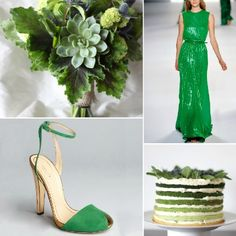 Pantone Color of the Year {Emerald} ·