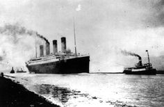 On April 10, 1912 , the Titanic departs Southampton, England, for her maiden Atlantic Ocean voyage to New York.  The luxury passenger liner sank about 375 miles south of Newfoundland, Canada, after striking an iceberg on its maiden voyage from England to New York on April 15, 1912 1912, killing more than 1,500 people.