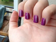 Barry M – Bright purple  WhitePitchie - http://www.pitchie.fr/?p=835
