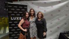 Eli de Luxeli con el equipo de Andra Cora en Evento Luxeli Belleza