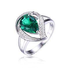 JewelryPalace Pera 1.9ct Verde Generato Nano Russo Anello... https://www.amazon.it/dp/B01FDEJPIU/ref=cm_sw_r_pi_dp_x_cQYdybMXDMAHG