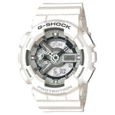 Casio Men s G-Shock Large White Analog-Digital Multi-Function Sport Watch  Casio 純白時尚手錶 c97c0b666938