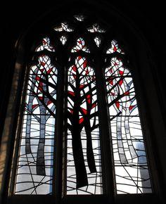 Stained glass window in Renfield St. Stephen's Church, Bath Street, Glasgow | Flickr - 相片分享!