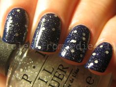 OPI Pirouette My Whistle over Ciate Power Dressing - edie4711