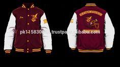 custom varsity jackets / custom letterman jackets / custom baseball jackets / for teams and individual