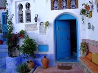 House in the medina of Chefchaouen. www.asilahventures.com