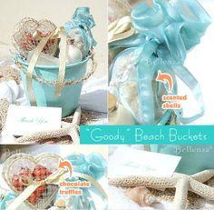 DIY Beach theme Gift Bucket idea