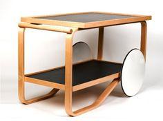 Alvar Aalto : Drinks Trolley 901