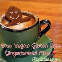 My delicious raw (or baked if you prefer), vegan, gluten-free, sugar-free gingerbread men will knock your socks