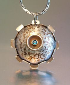 GEAR NECKLACE by MELODY ARMSTRONG, via Flickr