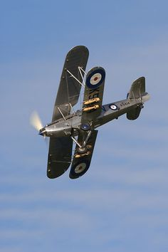 The Shuttleworth Collection's Hawker Hind G-AENP / K5414 displaying at Old Warden.