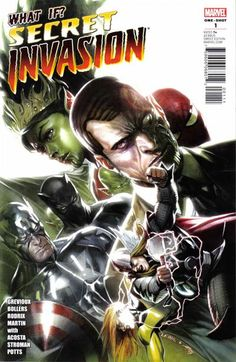 What if the Skrulls won during the Secret Invasion? What if the Secret Invasion stayed secret? Find out here in these two world-changing WHAT IF? Marvel Comic Character, Marvel Characters, Dave Ross, World War Hulk, National Geographic Kids, Marvel Series, Marvel Entertainment, Got Books, What To Read