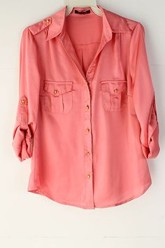 Love the coral color. Perfect for spring or fall.