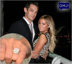 Ashely Tisdale got engaged to Christopher French on the 103rd floor of the Empire State Building!