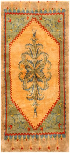 Antique French Savonnerie Rug 50297