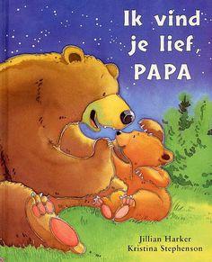 "Lees samen dit prachtige ""Ik vind je lief, papa""."