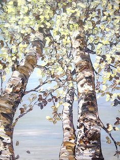 day birch- monochromatic Peaceful and beautiful...