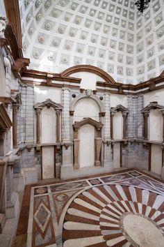 """Museo di Palazzo Grimani (Venezia), Venice Italy, Venezia Veneto hosts a cool exhibition """"Frontiers reimagined"""" as a collateral event at Biennale di Venezia"""