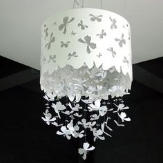 Butterfly lamp shade. DIY??