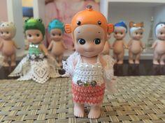Sonny angel clothes / dress: sweet clown fish