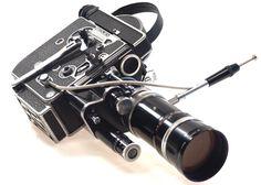 BOLEX H16 REFLEX 4 MOVIE CAMERA 16mm SWITAR ZOOM LENS | eBay